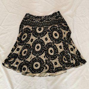 Diane von Furstenberg   Velvet Burnout Skirt
